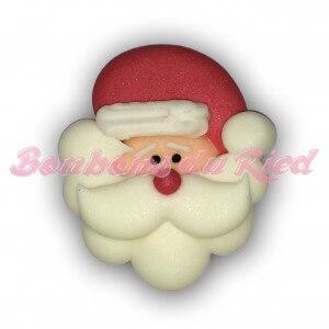 Tête de Père Noël en sucre
