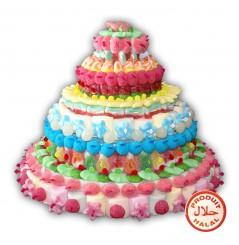 Gâteau de bonbons Yasmine