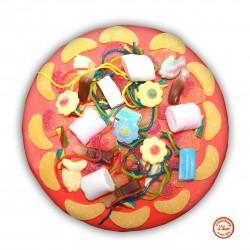 Pizza en bonbons Halal