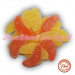 Tranche citron orange Halal