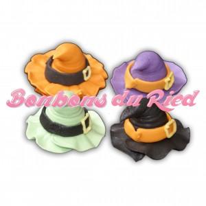Chapeau de sorcière en sucre