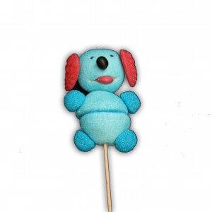 Brochette de bonbons chien