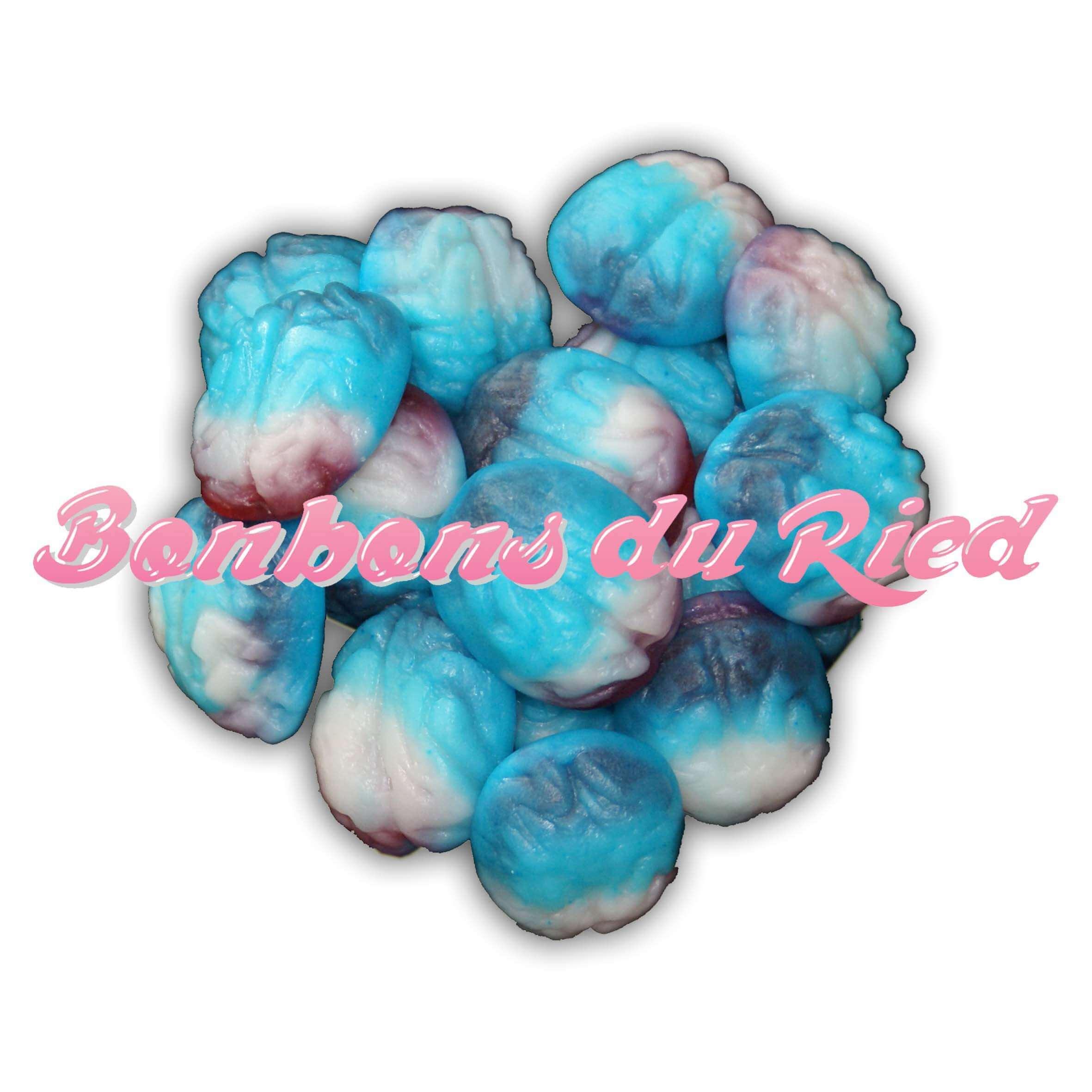 Bonbons cerveau bleue