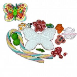 Kit créatif papillon en bonbons