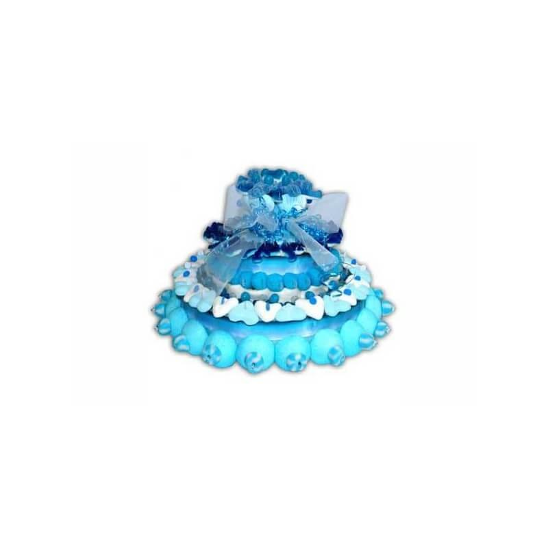 Pièce montée bleue
