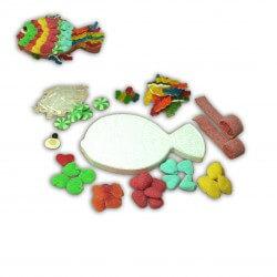 Kit créatif poisson en bonbons