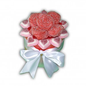 Bouquet de rose en bonbons