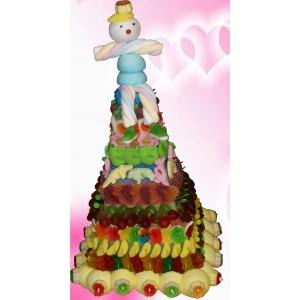 Pyramide de bonbons garnement