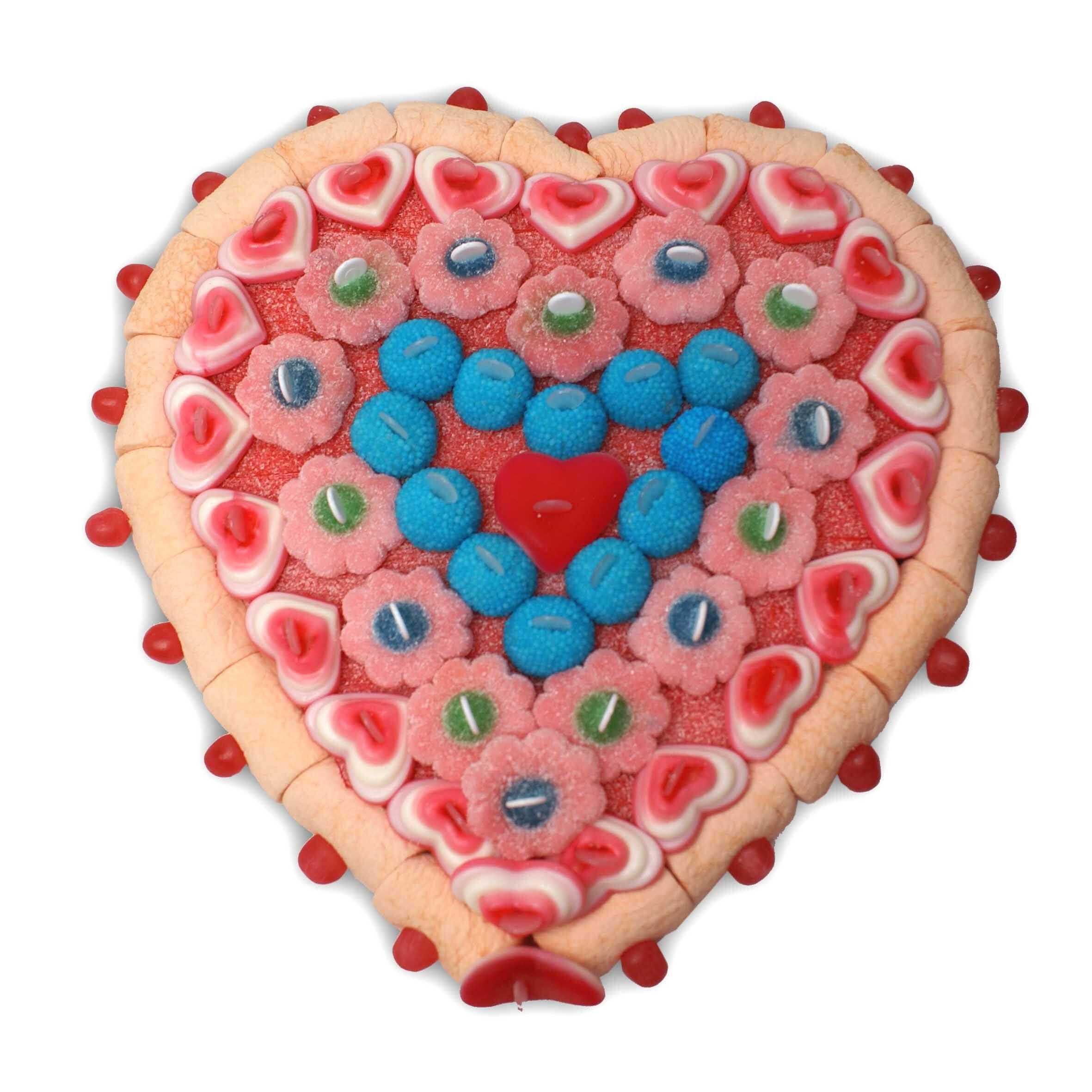 Coeur de bonbons halal Amina