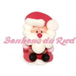 Père Noël 3D en sucre