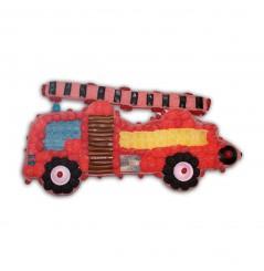 Camion de Pompier en bonbons