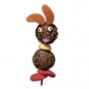 Brochette choco lapin