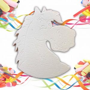 Cheval en polystyrène