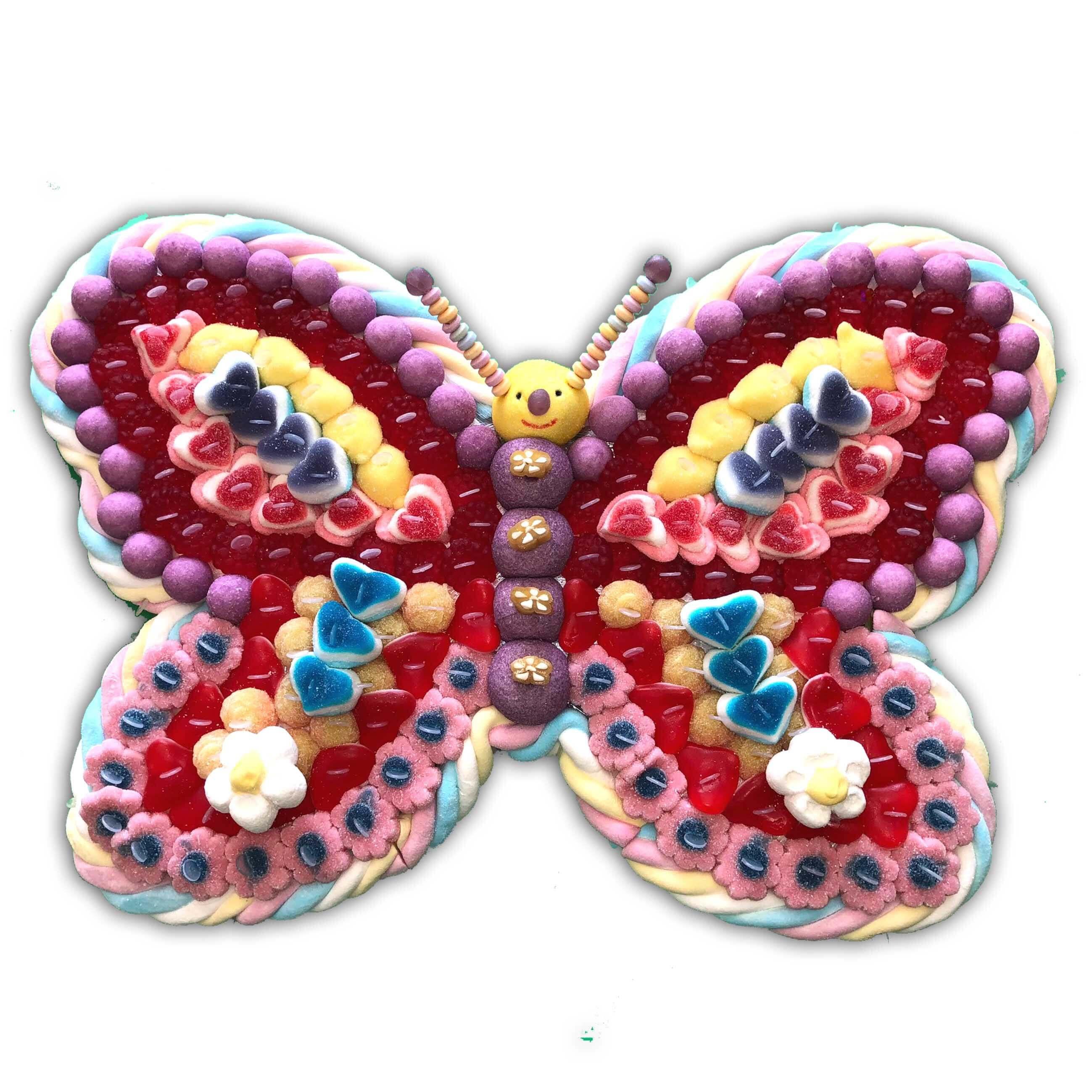 Papillon en bonbons Léa