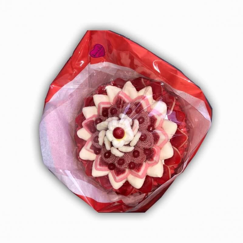 Bouquet en bonbons Le Rubis