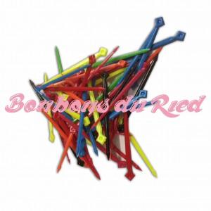 Grandes pics alimentaires multicolores