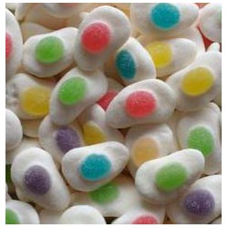 Oeufs multicolores
