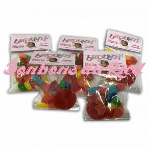 Lot de sachets bonbons personnalisables