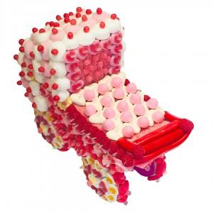 Berceau en bonbons 3D