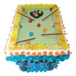 Billard en bonbons 3D