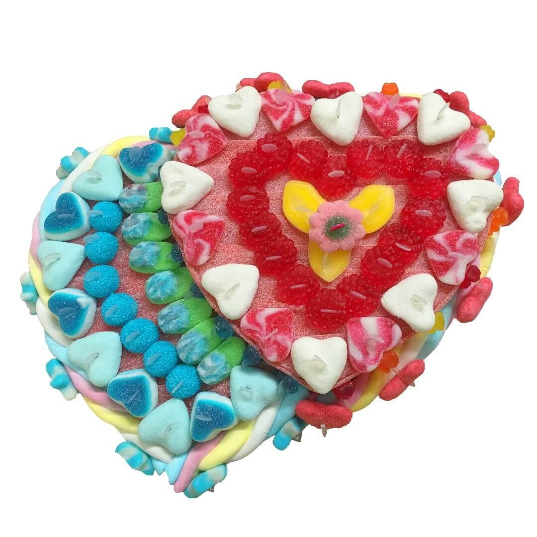 Cœur en bonbons - Elle et lui