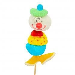 Brochette en bonbons Clown