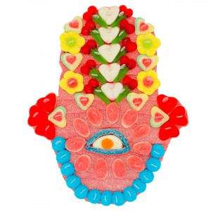 Main de Fatma en bonbons