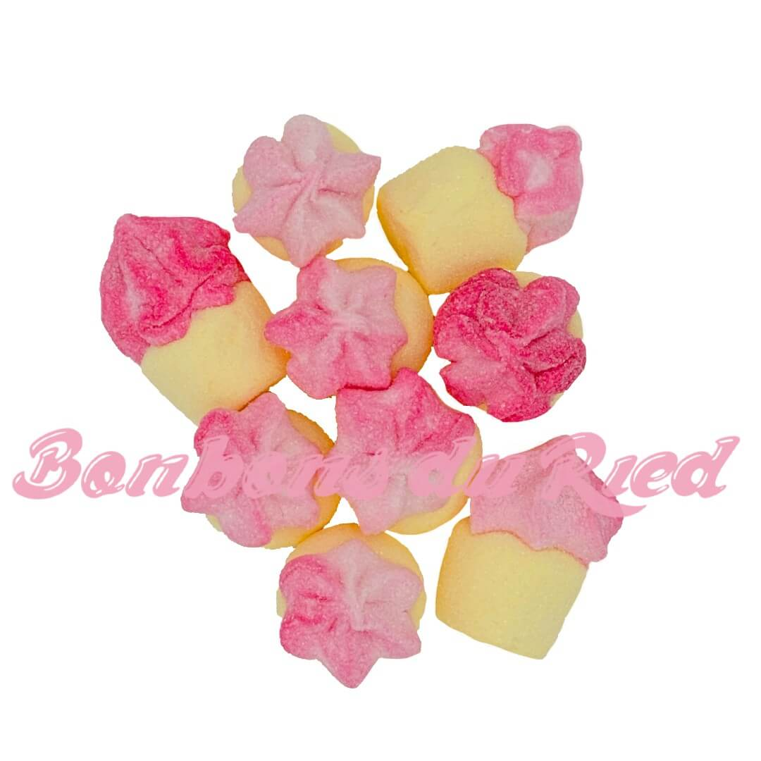 Cupcake guimauve bulgari