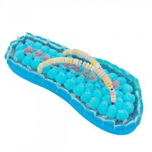 Tong en bonbons bleus