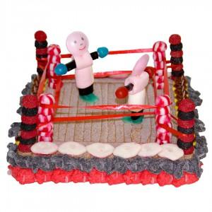 Ring de boxe 3D