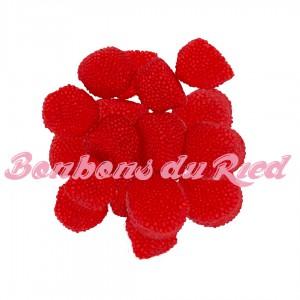Mûres perlées rouges