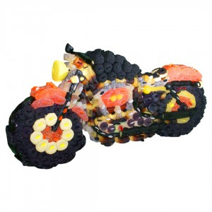 Harley 3D en bonbons