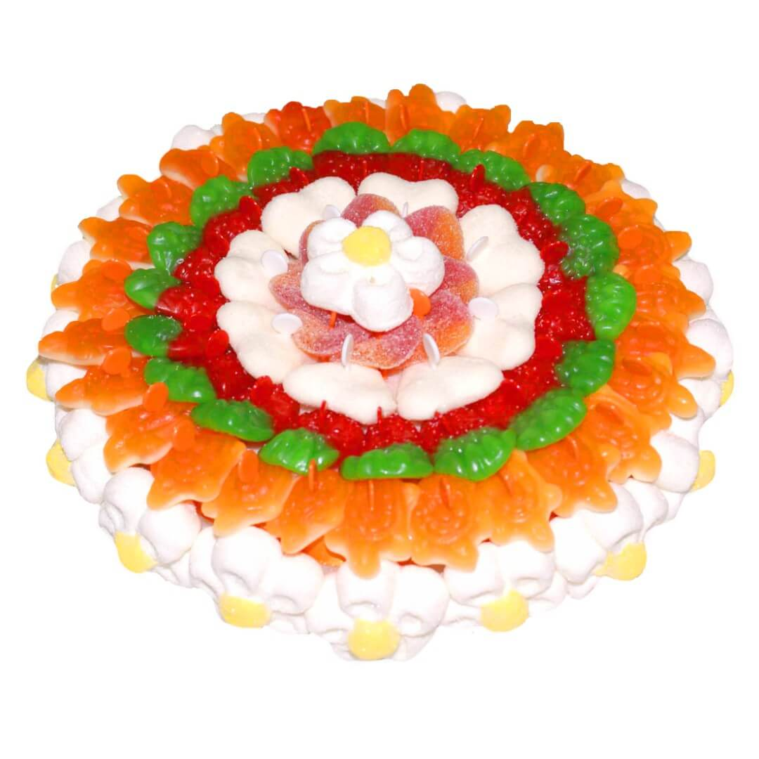 gateau-bonbon-fleur-guimauve-blanc