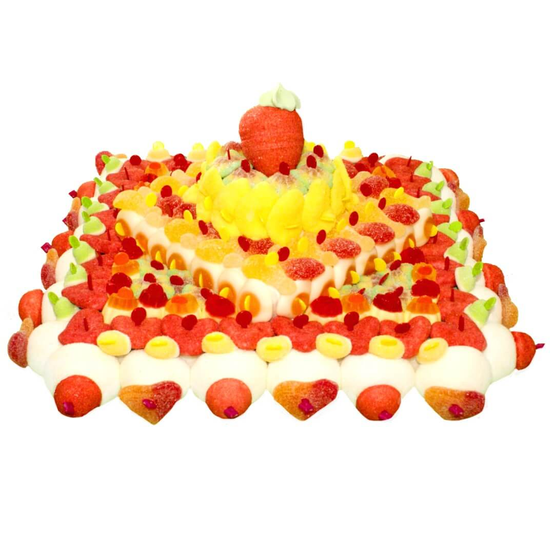 Gâteau-bonbon-carré-original