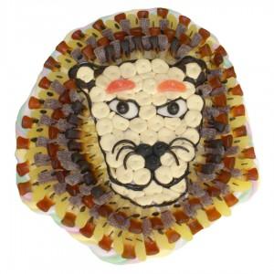 Lion en bonbons