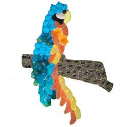 gateau-bonbons-perroquet-bleu