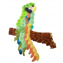 Perroquet-bonbons-vert-gateau