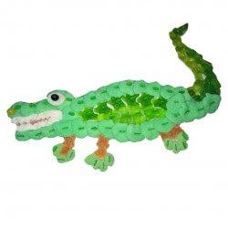 Crocodile en bonbons