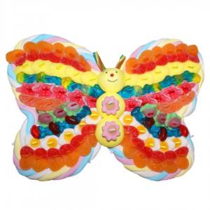 Papillon en bonbons personnalisable
