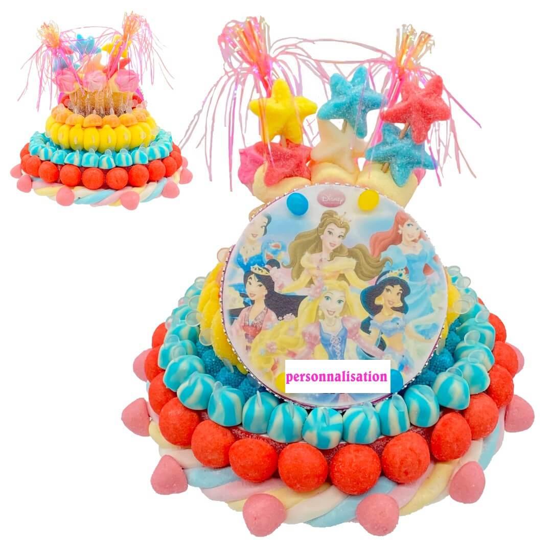 piece-montée-bonbons-princesse-disney-sur-mesure