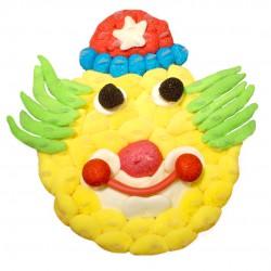 Clown en bonbons