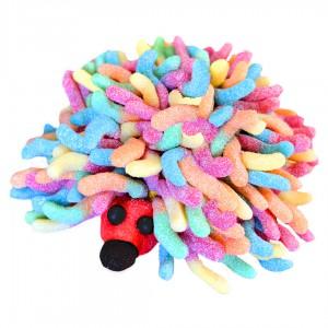 Hérisson 3D en bonbons