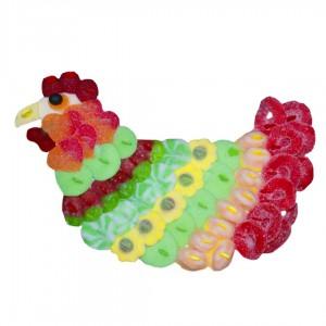 Poule en bonbons halal