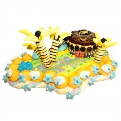 gâteau-bonbons-Iles-tropicales-exotique