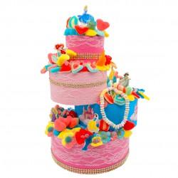 Pièce montée Princesse Disney bonbons halal