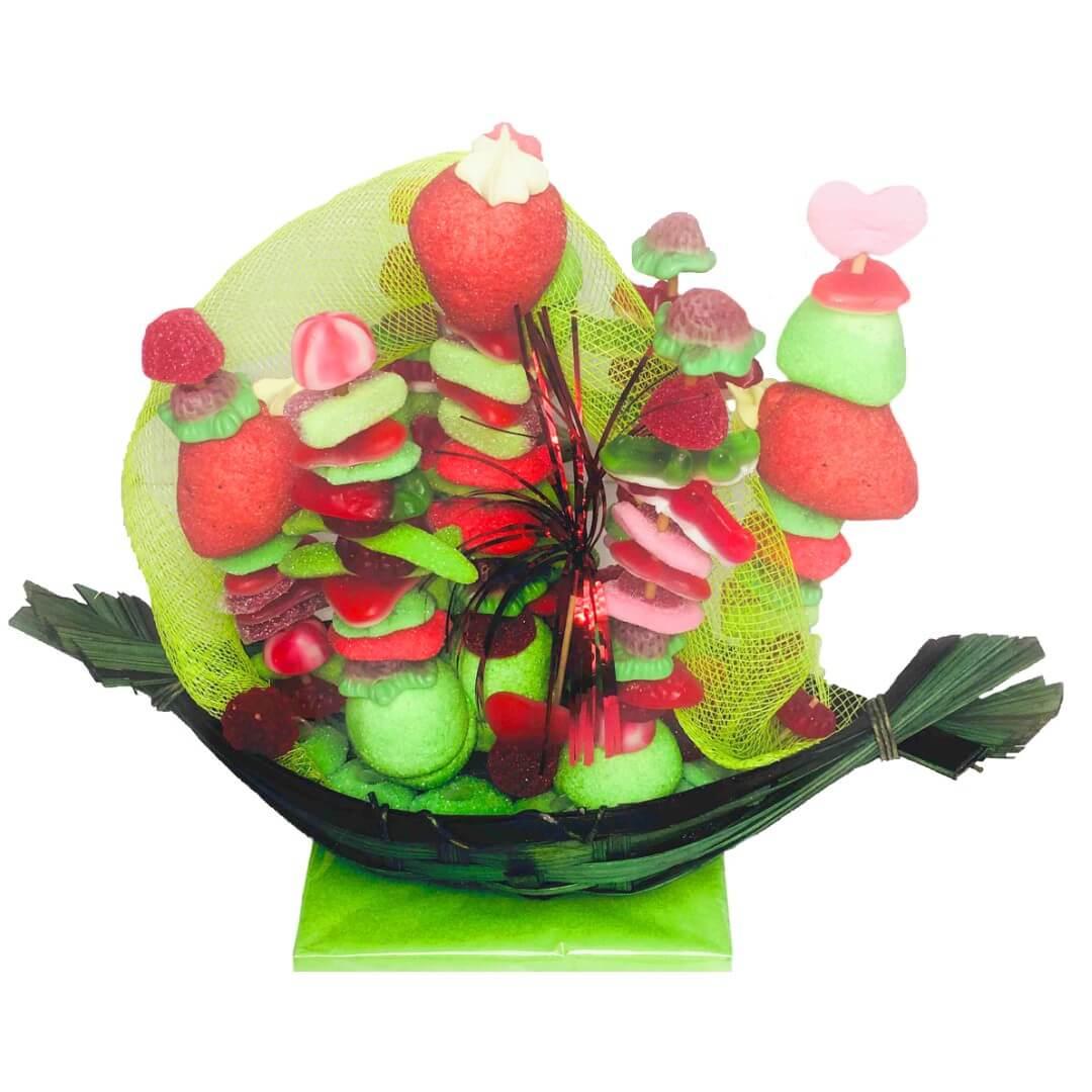 Centre de table en bonbons - Bonbons du Ried