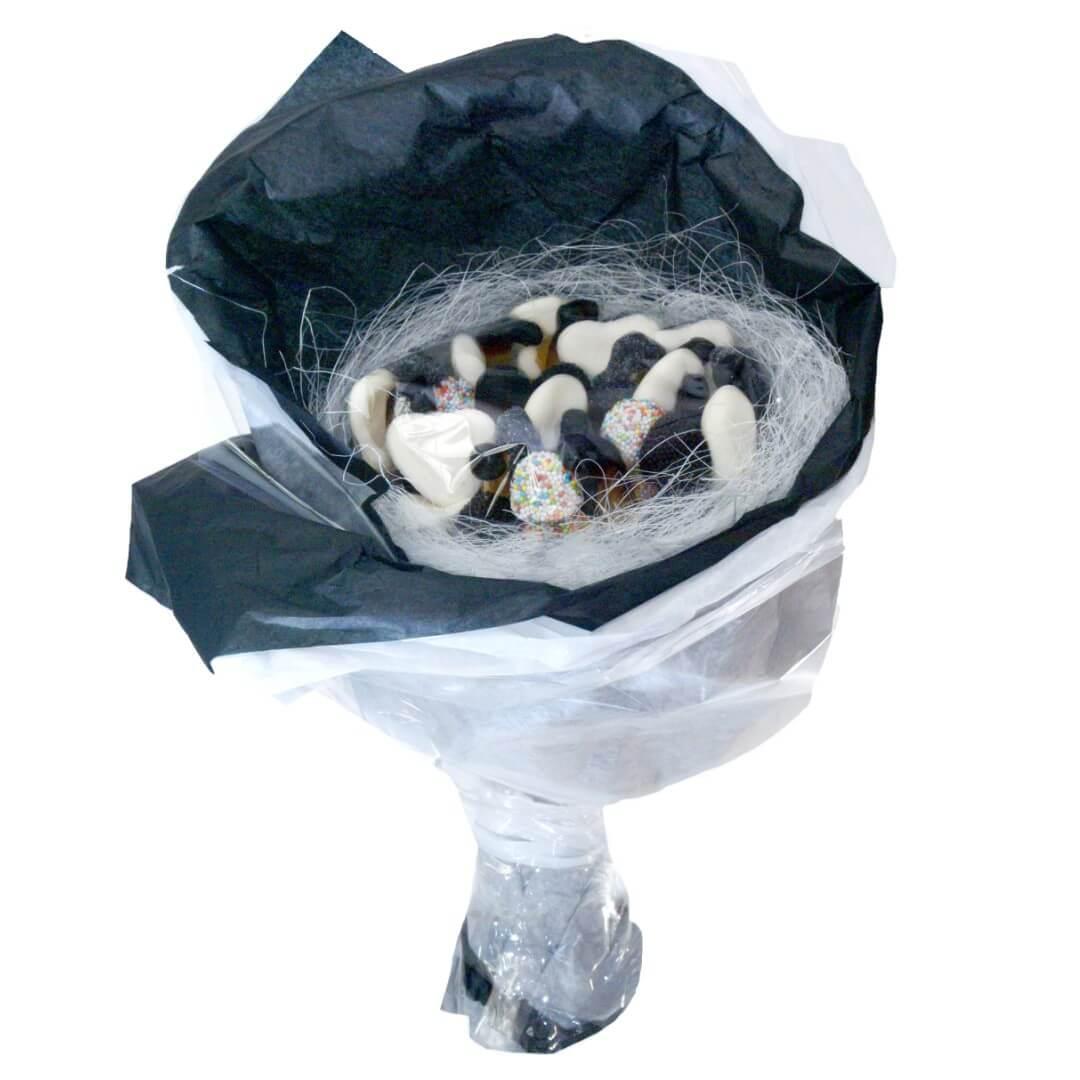 Le bouquet black & white
