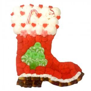 Grande botte du Père Noël