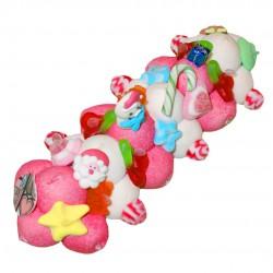 Bûche de Noël en bonbons