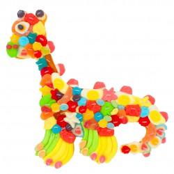 Dinosaure-bonbons-multicolore